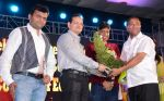 Ajay Kaul with Aneel Murarka, Champak Jain and Raju Srivastav at the 34th Annual Day Celebration and Prize Distribution Ceremony of Children�s Welfare Centre High Sch_54e0834f03f40.JPG