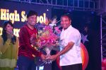Ajay Kaul with Raju Srivastav at the 34th Annual Day Celebration and Prize Distribution Ceremony of Children�s Welfare Centre High School on 14th Feb 2015_54e0836e41ddc.JPG