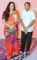 Ajay Kaul with Rati Agnihotri at the 34th Annual Day Celebration and Prize Distribution Ceremony of Children�s Welfare Centre High School on 14th Feb 2015 (2)_54e082de569d4.JPG