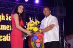 Ajay Kaul with Shweta Khanduri at the 34th Annual Day Celebration and Prize Distribution Ceremony of Children�s Welfare Centre High School on 14th Feb 2015_54e0826437858.JPG