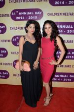 Jugnu Ishique with Shweta Khanduri at the 34th Annual Day Celebration and Prize Distribution Ceremony of Children�s Welfare Centre High School on 14th Feb 2015_54e0828150473.JPG