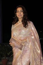 Juhi Chawla at Smita Thackeray_s son wedding reception in Sahara Star, Mumbai on 13th Feb 2015 (113)_54e000e447e18.JPG