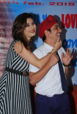 Sudhanshu Aggarwal, Shrishti Sharma at Controversial film Monsoon film press meet in Andheri, Mumbai on 18th feb 2015 (2)_54e5a1ba87b9e.JPG