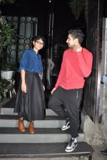 Ayan Mukherji & Kiran Rao snapped at Nido Cafe in Mumbai on 20th Feb 2015 (1)_54e88bf280112.JPG
