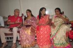 Asha Bhosle, Hema Malini, Pandit Jasraj, Dalip Tahil at Isckon for dr veen amundra_s album launch in Mumbai on 22nd Feb 2015 (26)_54eae0ea731e8.JPG