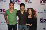 Vikas Bhalla, Sudhanshu Pandey, Vandana Sajnani at india kids fashion week in Mumbai on 22nd Feb 2015 (29)_54eae5e10f073.JPG
