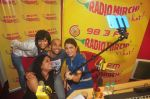 Anushka Sharma and Neil Bhoopalam with RJ Prackriti and RJ Sangeeta taking a selfie at Radio Mirchi studio (2)_54ed70da2b192.jpg