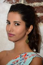 Manasvi Mamgai at Nisha Sainani_s SS15 and Mrinalini Chandra for Mineralini collection Launch on Mumbai on 25th Feb 2015 (64)_54eec81c67278.JPG
