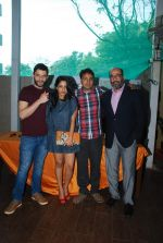 Arjun Mathur, Sugandha Garg, Manu Warrier, Mohan Kapoor at Coffee Bloom film preview in Mumbai on 26th Feb 2015 (36)_54f06dc57ef8e.JPG