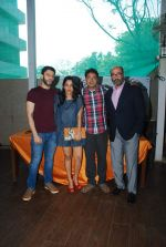 Arjun Mathur, Sugandha Garg, Manu Warrier, Mohan Kapoor at Coffee Bloom film preview in Mumbai on 26th Feb 2015 (33)_54f06eaa57835.JPG
