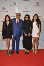 Sridevi, Boney Kapoor, Khushi Kapoor, Jhanvi Kapoor at Stefano Ricci Launch in India in Mumbai on 26th Feb 2015 (78)_54f03118cf16d.JPG