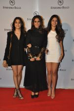Sridevi, Khushi Kapoor, Jhanvi Kapoor at Stefano Ricci Launch in India in Mumbai on 26th Feb 2015 (111)_54f0315af0571.JPG