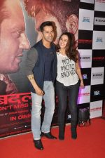 Preity Zinta, Varun Dhawan at _Badlapur success bash in Mumbai on 27th Feb 2015 (103)_54f1bcc760544.JPG