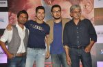 Varun Dhawan, Nawazuddin Siddiqui, Dinesh Vijan, Sriram Raghavan at _Badlapur success bash in Mumbai on 27th Feb 2015 (22)_54f1ba436f8b0.JPG
