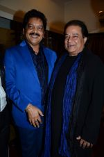 Anup Jalota, Udit Narayan at Ravindra Jain salute by various music legends in Birla Matushree on 28th Feb 2015 (63)_54f2fb04ee949.JPG