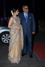 Sridevi, Boney Kapoor at Tulsi Kumar_s wedding reception in Sahara Star, Mumbai on 2nd March 2015 (248)_54f5b12446c87.JPG
