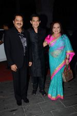 Udit Narayan, Aditya Narayan at Tulsi Kumar_s wedding reception in Sahara Star, Mumbai on 2nd March 2015 (422)_54f5b2e0a6605.JPG