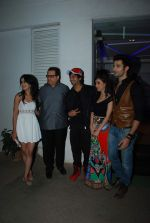 Gunjan Malhotra, Sidhant Gupta, Suzanna Mukherjee, Ramesh Taurani at Badmashiyan screening in Sunny Super Sound on 3rd March 2015 (54)_54f70a787fa85.JPG