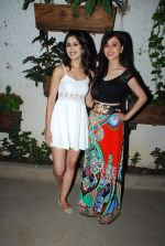 Gunjan Malhotra, Suzanna Mukherjee at Badmashiyan screening in Sunny Super Sound on 3rd March 2015 (22)_54f70a7a48bb1.JPG