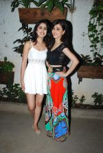Gunjan Malhotra, Suzanna Mukherjee at Badmashiyan screening in Sunny Super Sound on 3rd March 2015 (24)_54f70a7b2ac0f.JPG