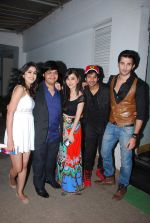 Gunjan Malhotra, Sidhant Gupta, Suzanna Mukherjee, Karan mehra at Badmashiyan screening in Sunny Super Sound on 3rd March 2015 (65)_54f70a2a9797a.JPG