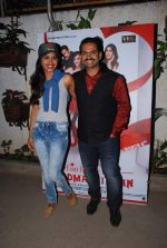Sharib Hashmi at Badmashiyan screening in Sunny Super Sound on 3rd March 2015 (88)_54f70b998cdb2.JPG