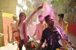 Deepshikha, Kaishav Arora at Shabana Azmi_s holi bash in Mumbai on 5th March 2015 (137)_54f9b67caf7b4.JPG