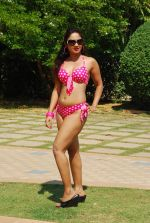 Marisa Verma bikini holi shoot on 5th March 2015 (34)_54f97860c5fe1.JPG