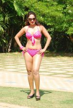 Marisa Verma bikini holi shoot on 5th March 2015 (38)_54f9786d91b20.JPG