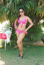 Marisa Verma bikini holi shoot on 5th March 2015 (41)_54f97879340a2.JPG
