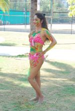 Marisa Verma bikini holi shoot on 5th March 2015 (48)_54f9788c528ec.JPG