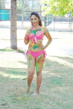 Marisa Verma bikini holi shoot on 5th March 2015 (50)_54f97890d6e9d.JPG
