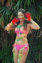 Marisa Verma bikini holi shoot on 5th March 2015 (60)_54f978a22cc7d.JPG