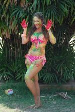 Marisa Verma bikini holi shoot on 5th March 2015 (61)_54f978a3bd88f.JPG