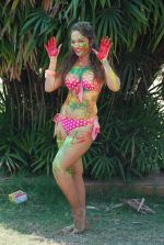 Marisa Verma bikini holi shoot on 5th March 2015 (62)_54f978a569365.JPG