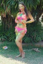 Marisa Verma bikini holi shoot on 5th March 2015 (64)_54f978a95200b.JPG