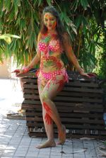 Marisa Verma bikini holi shoot on 5th March 2015 (67)_54f978ae30b27.JPG