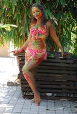 Marisa Verma bikini holi shoot on 5th March 2015 (68)_54f978af572e6.JPG