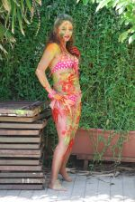 Marisa Verma bikini holi shoot on 5th March 2015 (71)_54f978b5a047d.JPG