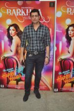 Priyanshu Chatterji at mahesh Bhatt launches Zahara productions Barkhaa Trailor on 5th March 2015 (42)_54f9a2a8b4c80.JPG