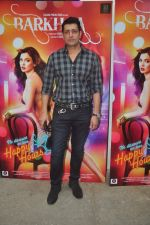Priyanshu Chatterji at mahesh Bhatt launches Zahara productions Barkhaa Trailor on 5th March 2015 (43)_54f9a2ac56e29.JPG