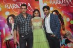 Sara Loren, Taaha Shah at mahesh Bhatt launches Zahara productions Barkhaa Trailor on 5th March 2015 (31)_54f9a33e3bb72.JPG