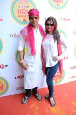 Deepshikha, Kaishav Arora at Zoom Holi Bash in Mumbai on 6th March 2015 (170)_54fac3e1359bf.JPG
