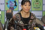 Mary Kom honoured on International women_s day by Sathyabama university on 6th March 2015 (36)_54fb021bb8b0f.jpg