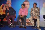 Naseeruddin Shah, Paresh Rawal, Annu Kapoor at Dharam Sankat Mein film launch in Cinemax on 7th March 2015 (134)_54fc5173a71fd.JPG