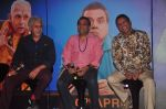 Naseeruddin Shah, Paresh Rawal, Annu Kapoor at Dharam Sankat Mein film launch in Cinemax on 7th March 2015 (136)_54fc51e4b0095.JPG
