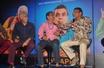 Naseeruddin Shah, Paresh Rawal, Annu Kapoor at Dharam Sankat Mein film launch in Cinemax on 7th March 2015 (142)_54fc51e5b668d.JPG