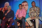 Naseeruddin Shah, Paresh Rawal, Annu Kapoor at Dharam Sankat Mein film launch in Cinemax on 7th March 2015 (156)_54fc51e954471.JPG