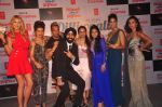 Natalia Kapchuk, Taranpreet Singh, Ira Dubey, Jazzy B, Japinder Kaur, Hard at Dilliwali Zalim girlfriend music launch in Mumbai on 9th March 2 (69)_54fe92aec0d32.JPG
