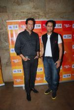 Salim Merchant, Sulaiman Merchant at IPL Song launch in Lightbox, Mumbai on 10th March 2015 (8)_550003439d53c.JPG